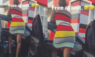 Trending Photo: Alex Unusual captions her butts 'Free at last'