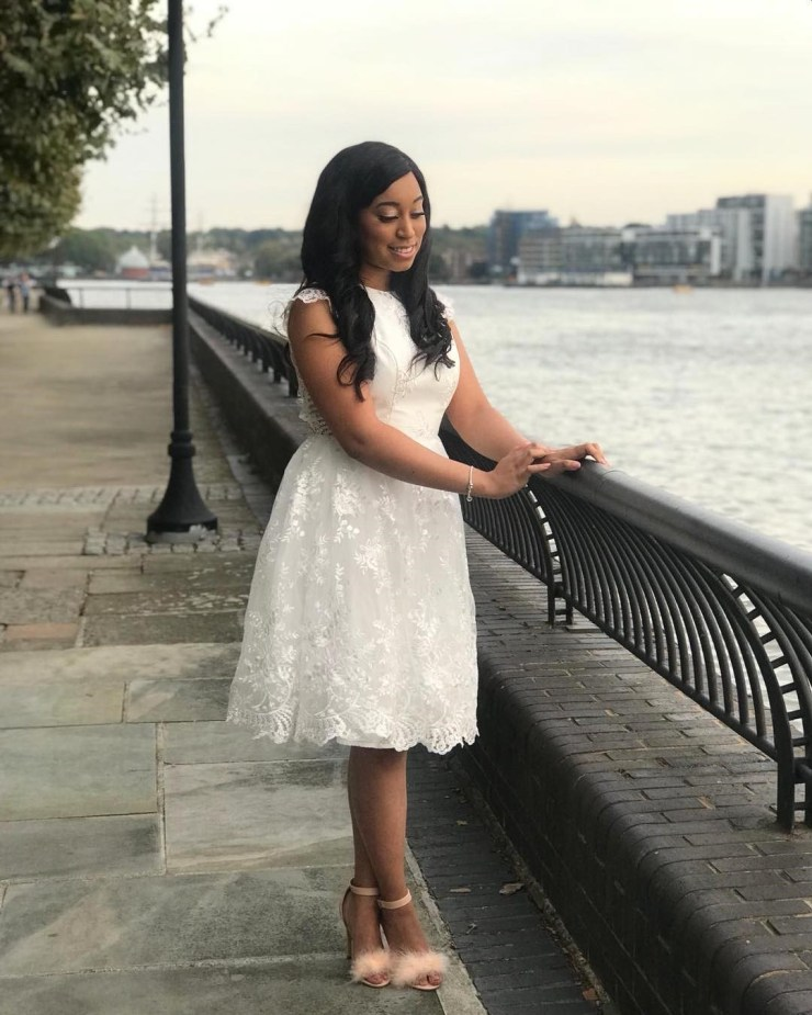 Cute bridal shower photos and video of Pastor Chris Oyakhilome daughter