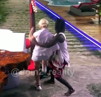 Trending video shows how female celebrity beat up a lady on live TV