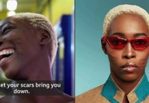 Nigerian Model with tribal marks Adetutu Alabi Gets Featured On BBC (Video)