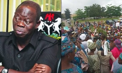 APC Women Vow To Go Naked In Protest Against Oshiomhole