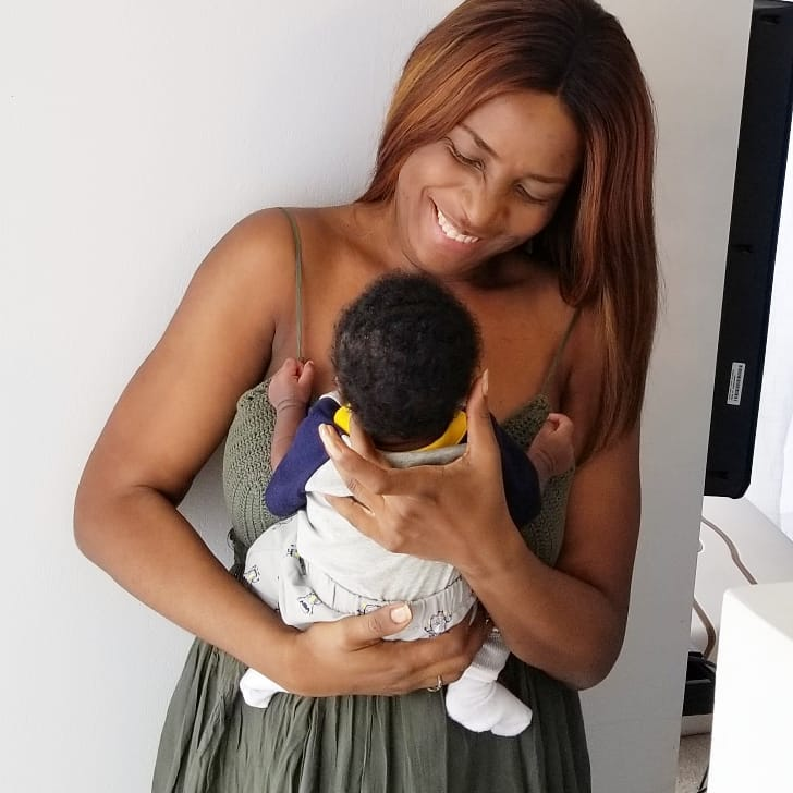 Blogger Mogul Linda Ikeji shares Adorable New Photos with her son JJ
