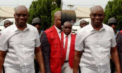 Breaking: Court grants N50m bail to former governor, Ayodele Fayose