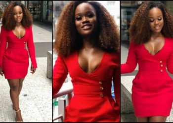 BBNaija Cee-c gushes out boobs in latest photos 1