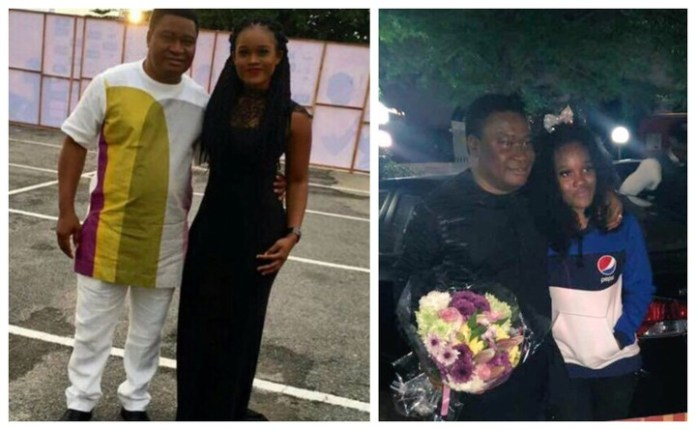 Daddy in the skirt – Cee-c's dad writes her a sweet birthday message