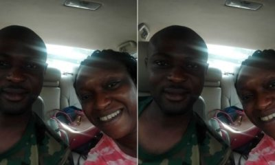 Woman Shares Her Emotional Encounter With A Nigerian Soldier In Lagos