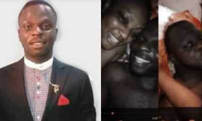 Lagos pastor whose sex tape went viral is forced to relocate his church following threats