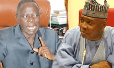 ''Saraki will be buried politically by February 2019'' - Oshiomole boasts