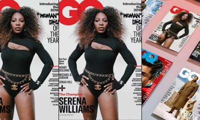 Tennis champion Serena Williams crowned GQ woman of the year