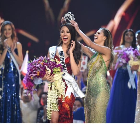 24-year old Catriona Gray crowned Miss Universe 2018