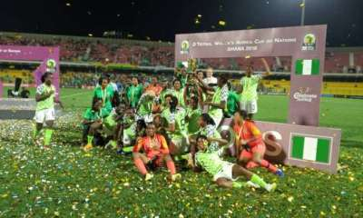 Buhari reacts to Falcons win AWCON 2018