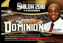 Watch Winners' Chapel SHILOH 2018 Thanksgiving LIVE Service December 9 - Day 6
