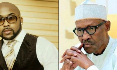 Banky W collected N57million from Buhari – Woman calls out singer, says she has evidence