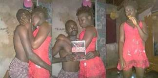 Man Trends Over Strange Loved Up Photos With His Girlfriend