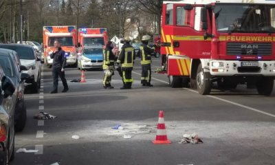 Man survives after setting himself on fire in Germany during protest against Turkey's detention of militant leader, Abdullah Ocalan