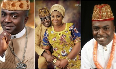 Nigerian Gospel Artiste Asu Ekiye's wife celebrates 21 years marriage anniversary with cute photo