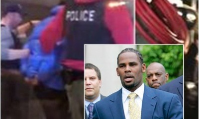 R Kelly hands himself in to police after aggravated s6ex abuse charges