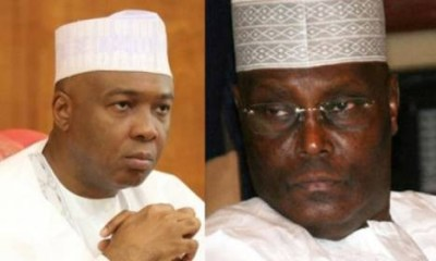 CUPP alleges plan to frame up Atiku, Saraki, Melaye