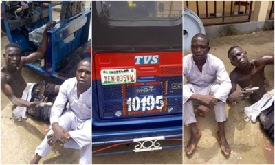 Police arrest 19-year-old armed robber, others, recover arms and tricycle in Yenagoa