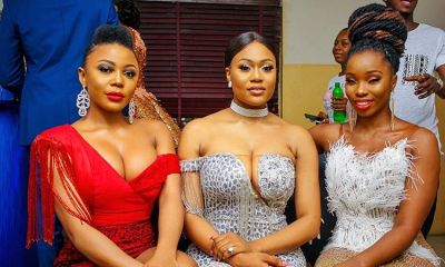 Hot BBNaija stars, Bam Bam, Ifu Ennada and Vandora displays boobs in new photo