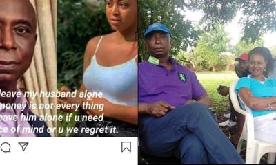 Alleged 4th Wife Of Ned Nwoko Warns Regina Daniels to 'Leave her husband alone, if she want peace'