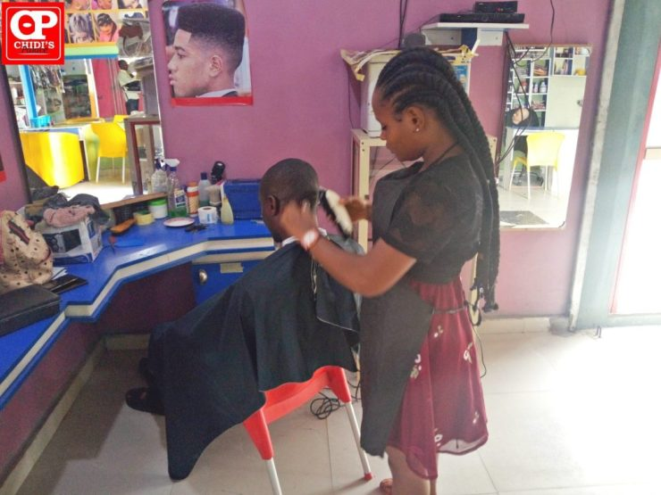 Female Barber