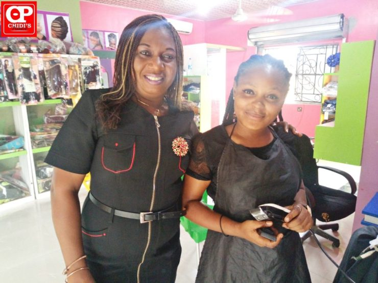 DG GirlChild and Bayelsa Barber