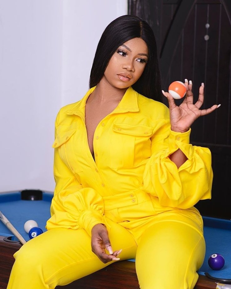 Tacha shares first photo after deleting all Instagram posts