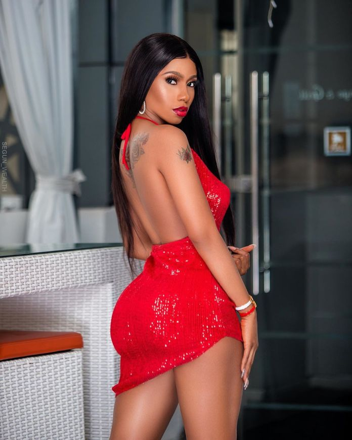 Mercy Eke releases more hot photos and video with Broda Shaggi
