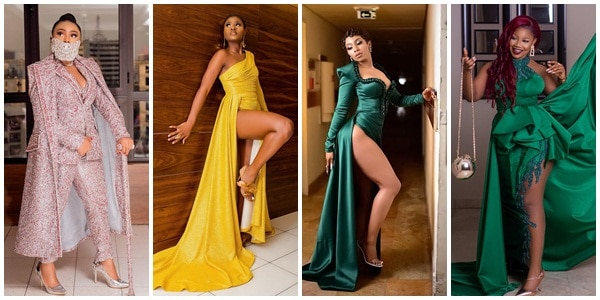 Fashion: Which of your favourite BBNaija celebrity rock best outfit at AMVCA 2020