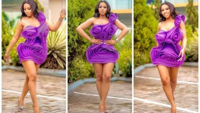 """""""Classy and fabulous"""" – Mercy Eke says as she shares stunning photos"""