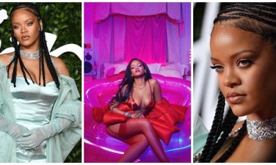 Rihanna becomes the richest female musician in the UK