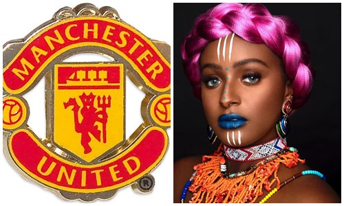 Manchester United Officially Welcomes DJ Cuppy After Dumping Arsenal