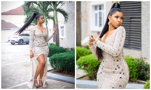 Tacha shares stunning photos as she launches new product today