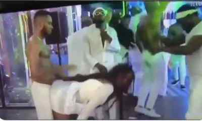 Watch moment Brighto gave Ka3na doggy at the party (Video)