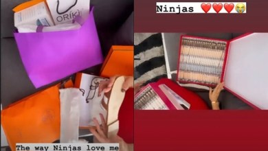 How Ninjas showers Nengi boxes of money, Fenty products, Designer bag, others on Valentine's Day