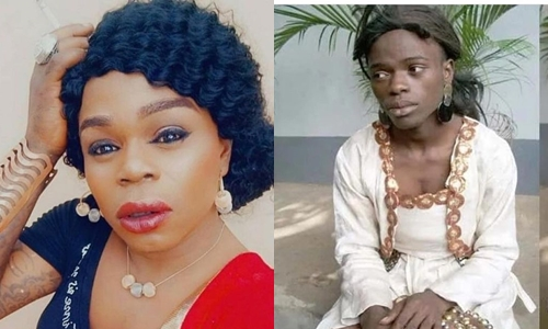 """Michelle Page ridicules Bobrisky with old photos - """"You used pure water as breast"""""""
