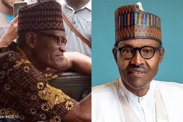 Lagos Thrown into Confusion As Buhari Look-Alike Spotted Driving (Photos)
