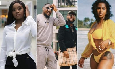"Nigerians drag Davido's crew for calling Chioma ""Our Wife"" whiles they support him to cheat"