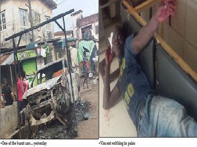 Hoodlums clash left two dead in lagos