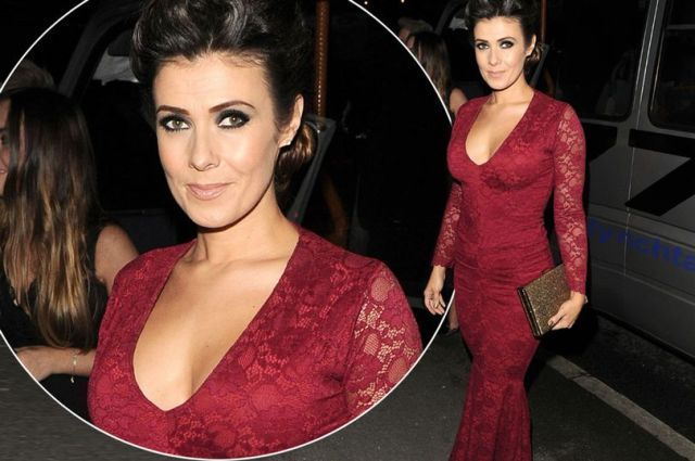 Kym-Marsh-at-Denise-Welchs-Christmas-Party-2016