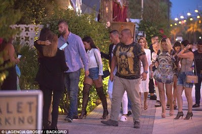 Cristiano Ronaldo & Girlfriend Step Out For Dinner Amid Claims They Are Expecting A Child