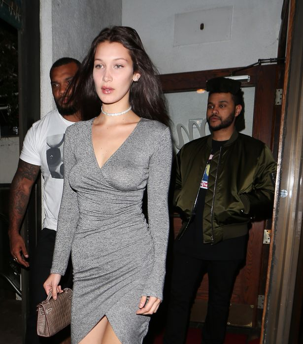 Bella-Hadid-And-The-Weeknd-Dine-At-Madeo-Restaurant
