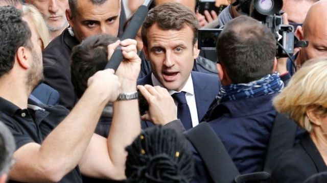 Macron condemns 'massive' hacking attack as documents leaked