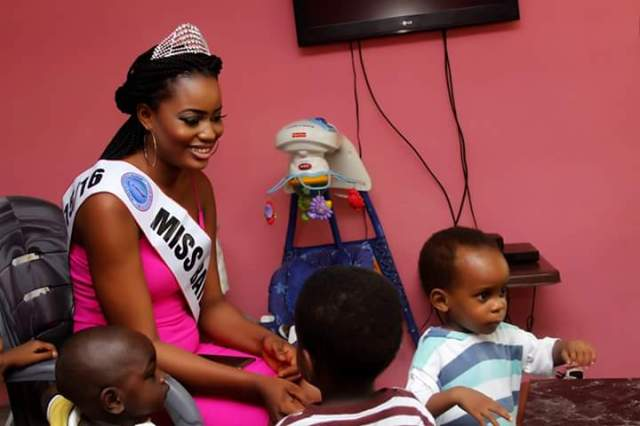Beauty Queen in the Orphanage