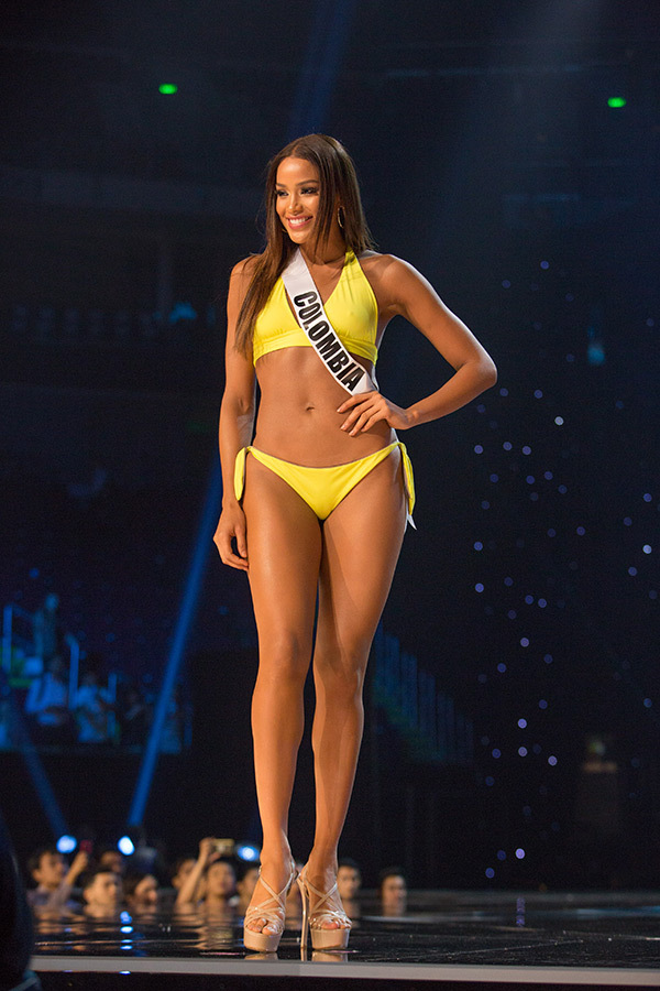 Andrea Tovar, Miss Colombia Competing In Miss Universe 2017 In The Swimwear Competition