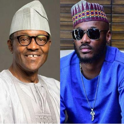 Buhari and Tuface Idibia