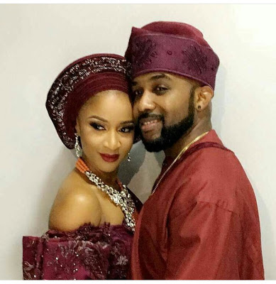 Stunning Photos From Banky W & Adesua Etomi's Introduction