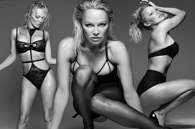 Pamela Anderson in VERY sexy lingerie photoshoot
