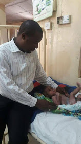 Man slept with 6-month-old baby with the support of his wife